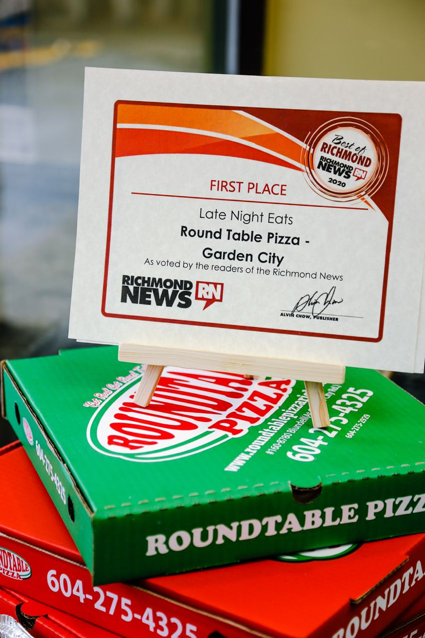 Best Pizza In Richmond With Free Delivery Round Table Pizza